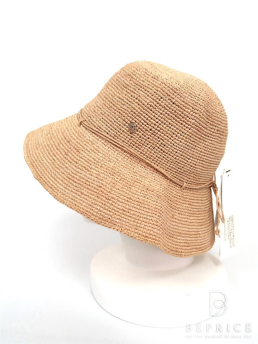 ヘレンカミンスキー 帽子 ラフィアハット