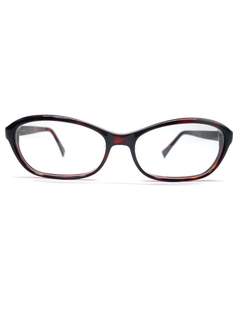 白山眼鏡店 メガネフレーム 眼鏡 ブラウン