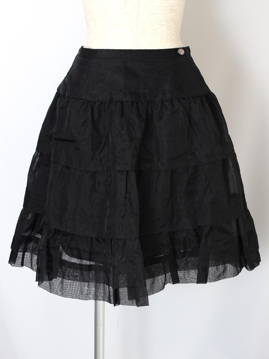 フォクシーブティック スカート Whip Noir