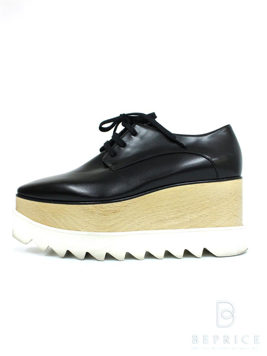 ステラマッカートニー STELLA McCARTNEY ステラマッカートニー 靴 ブリットブラックシューズ