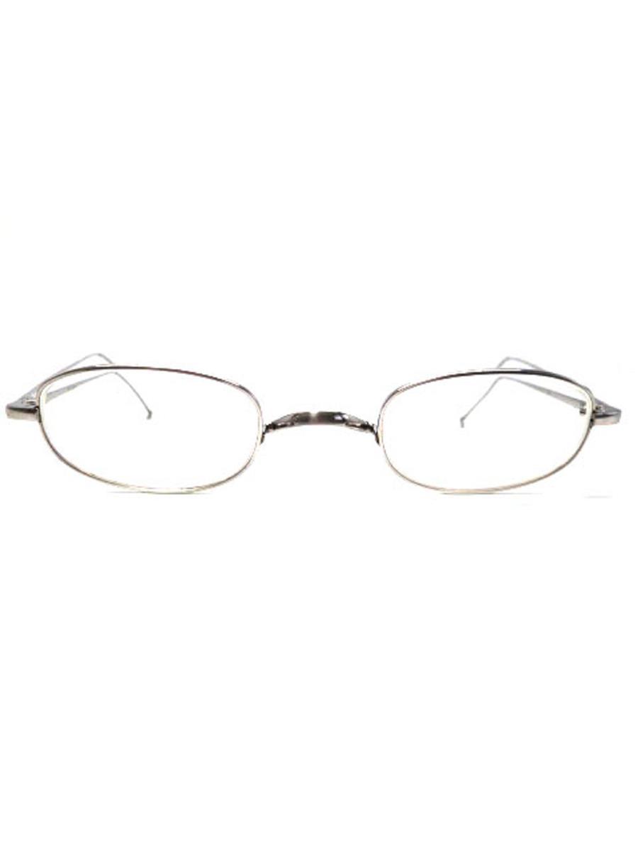 井戸多美男 眼鏡 メガネフレーム シルバー