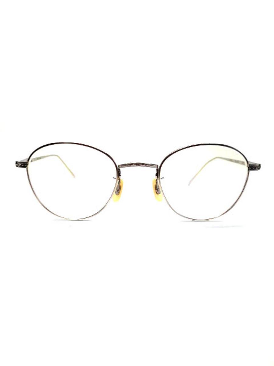 エイチフュージョン 眼鏡 メガネフレーム ボストン メタル【47□22】