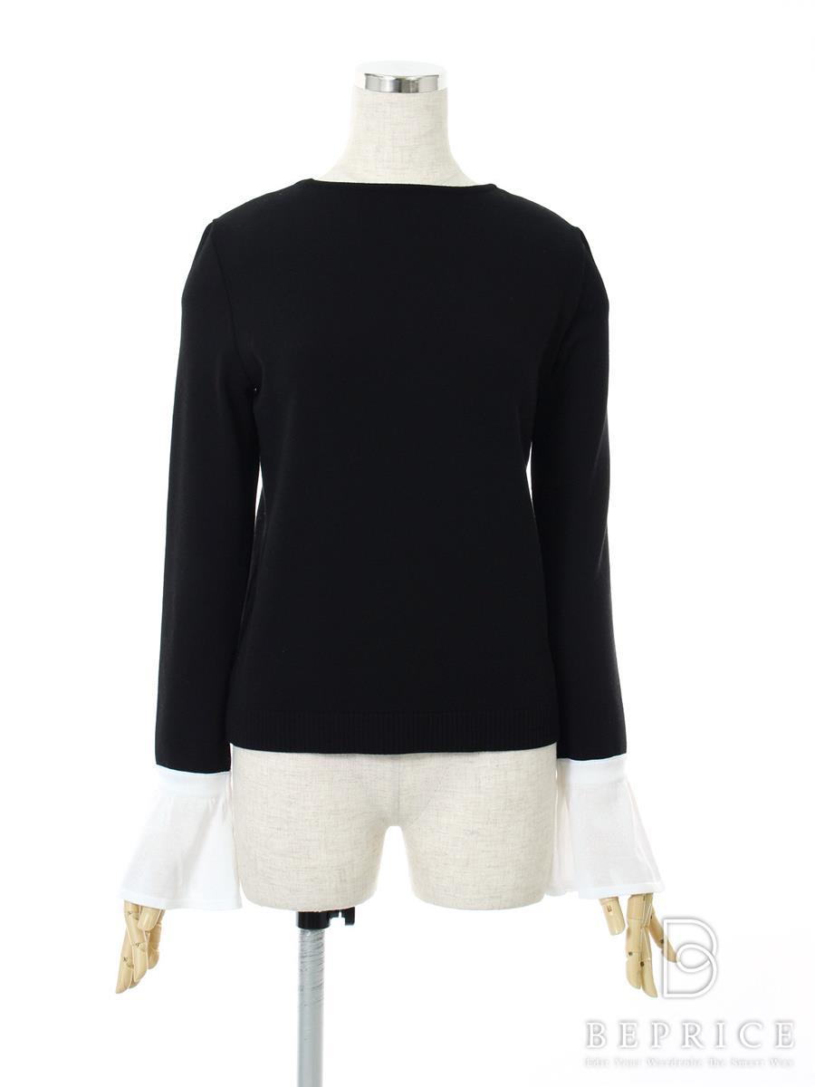 フォクシーブティック Tシャツ カットソー トップス Flare sleeve knit top 36848