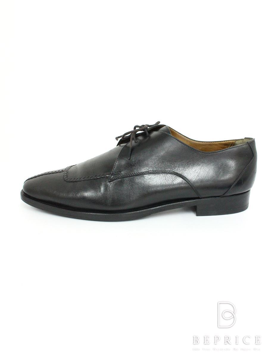 エルメス ブーツ 靴 ビジネス シューズ ソール等汚れ変色有り