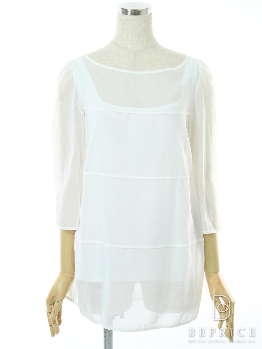 デイジーリン for フォクシー Tシャツ カットソー トップス White Veil 30926