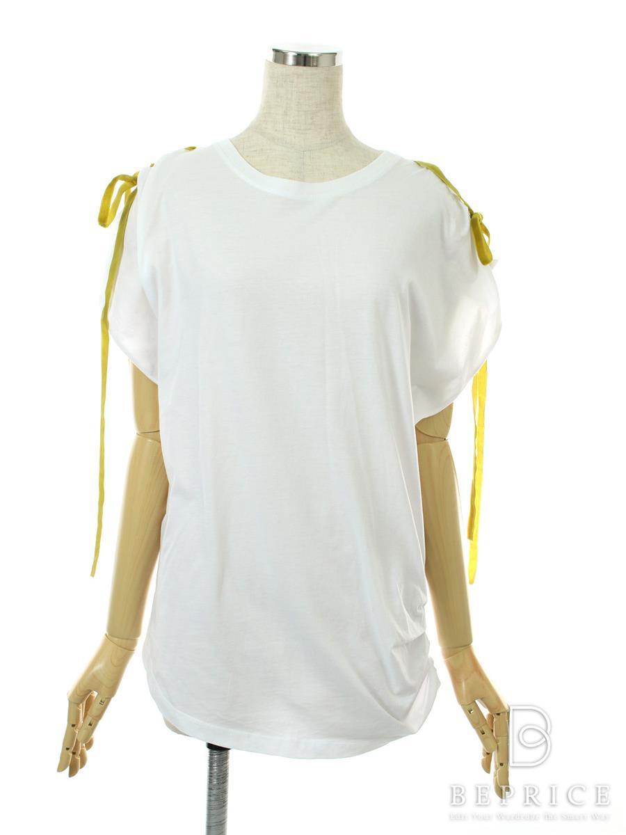 レッドヴァレンティノ Tシャツ カットソー トップス 半袖 袖リボン