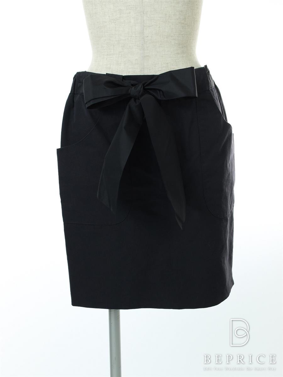 ドゥロワー スカート スカート リボン