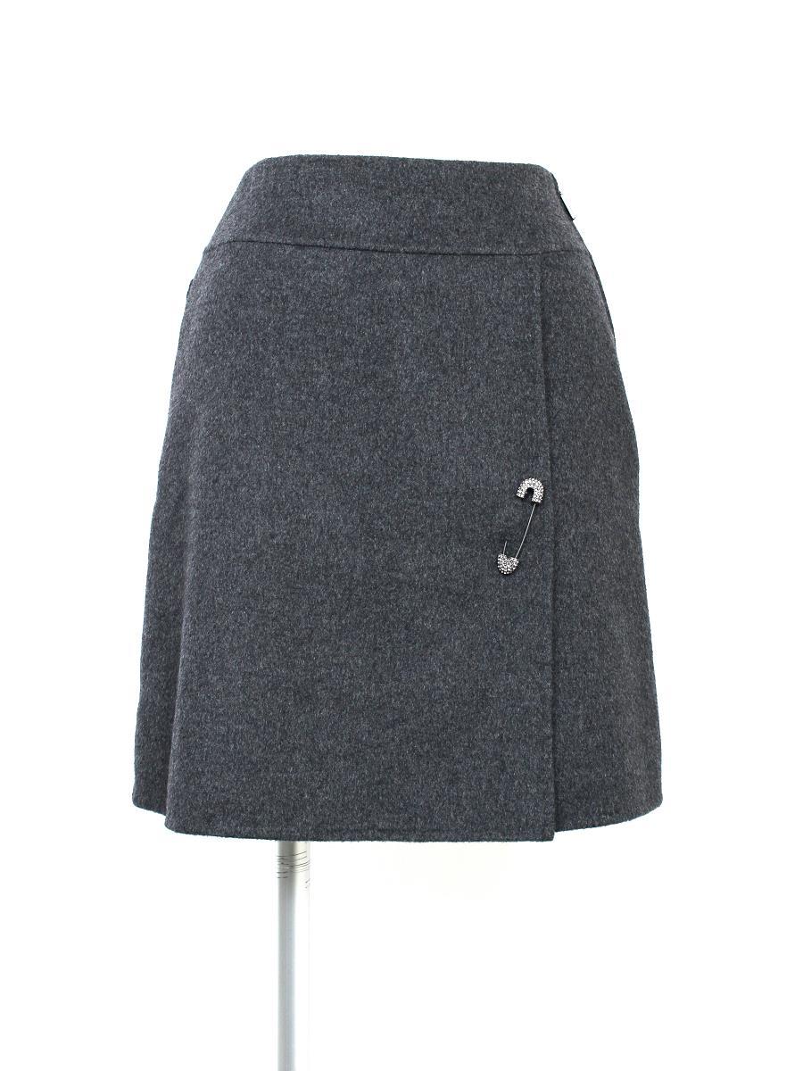 フォクシーブティック スカート スカート ストレッチカシミヤダブルフェイス 24652
