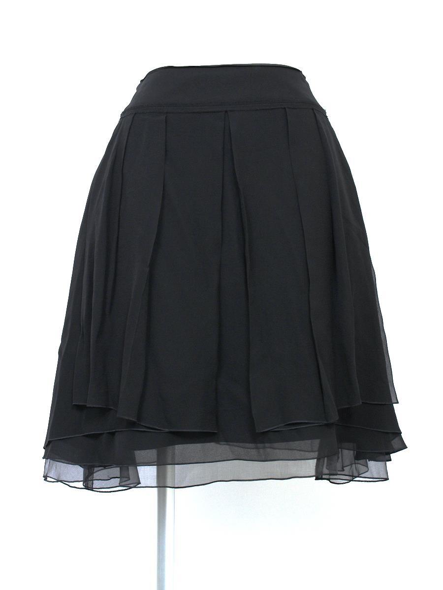 フォクシーブティック スカート スカート シフォンクレープ 25703