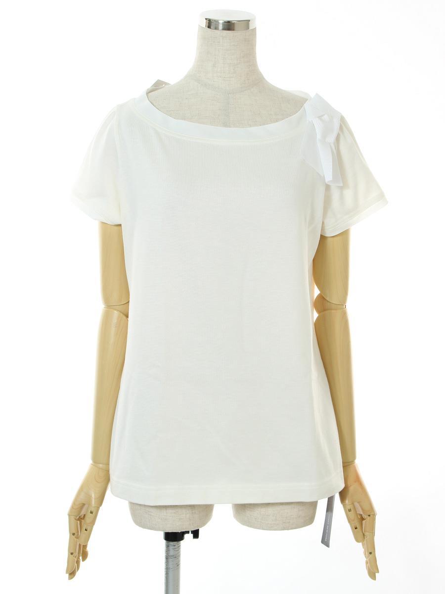 フォクシーニューヨーク Tシャツ カットソー トップス T-shirt Charm Boat 36331