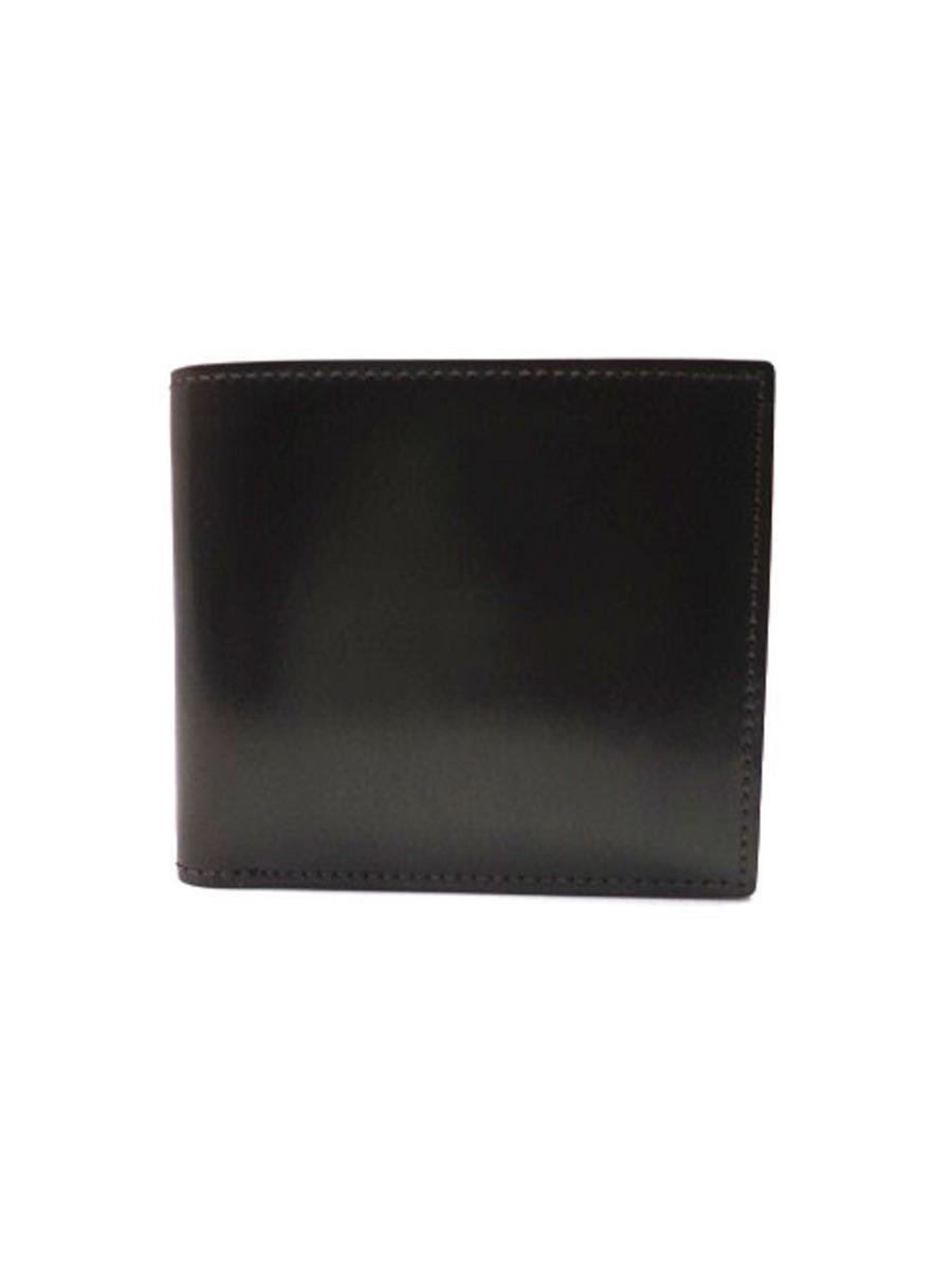 ガンゾ ガンゾ シェルコードバン2 2つ折り財布
