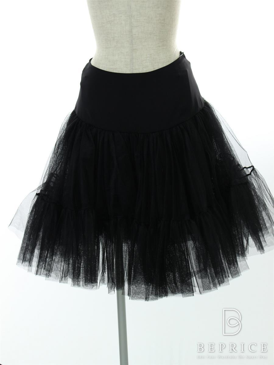 フォクシーブティック スカート スカート チュチュパニエ ブラックブラック 30643