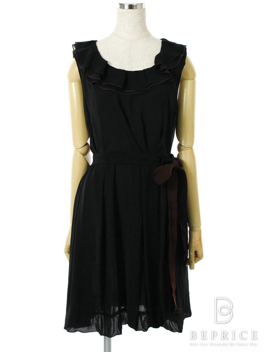 フォクシーニューヨーク ワンピース ノースリーブ Dress