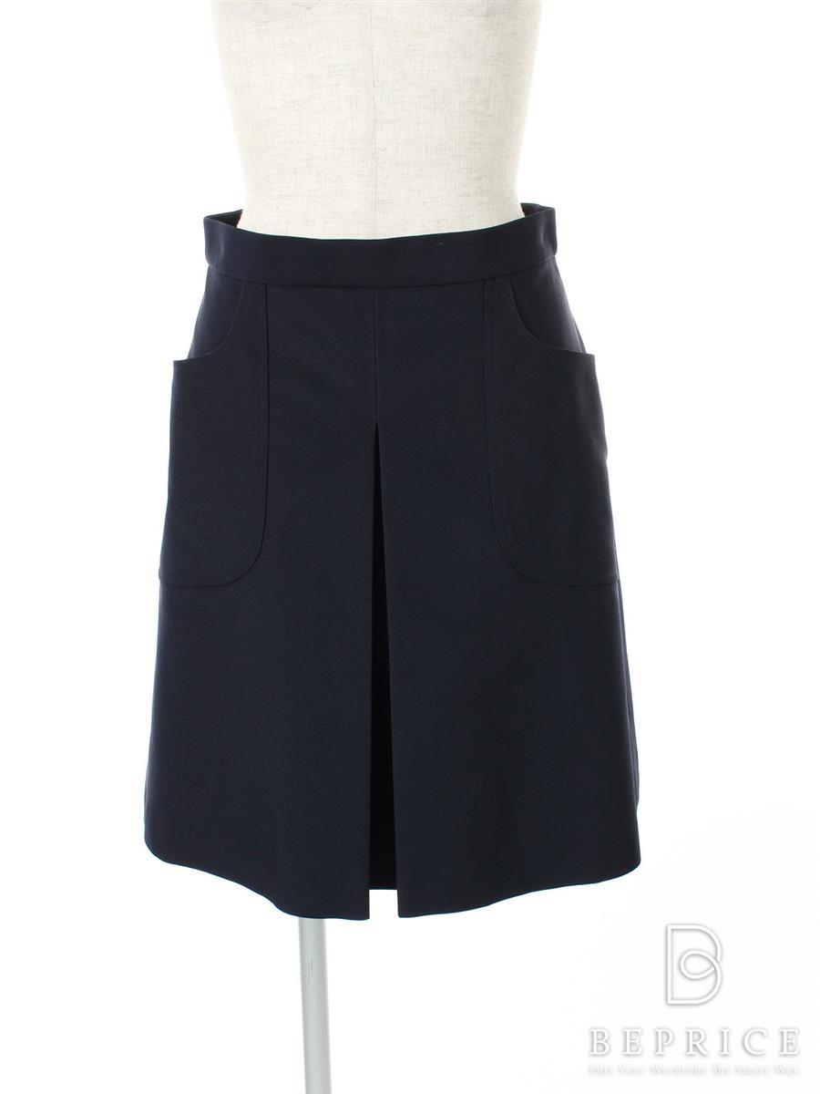 フォクシーブティック スカート スカート Faille Cargo Pleated Skirt 35073