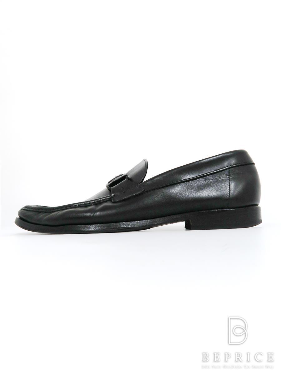 サルヴァトーレフェラガモ ブーツ 靴 ローファー シューズ ガンチーニ 汚れあり