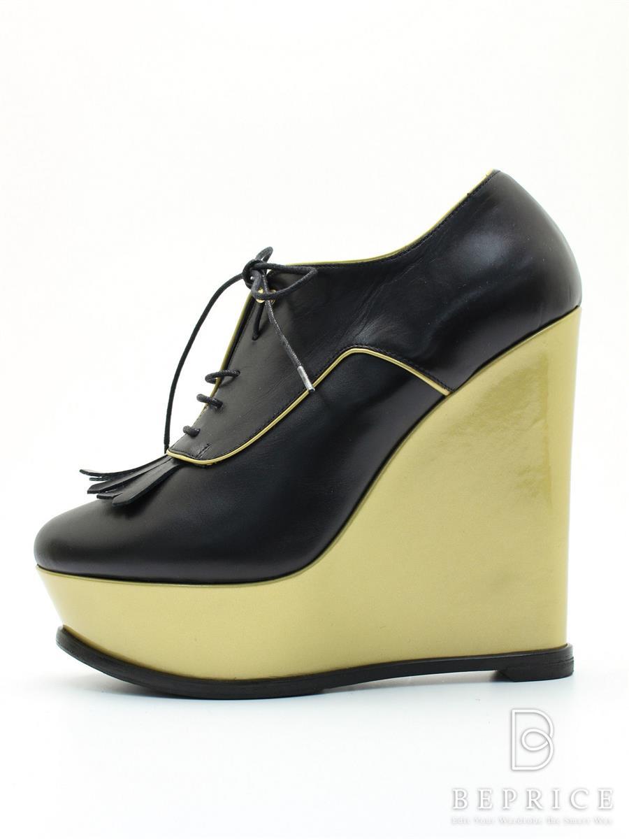 ヴェルサーチ VERSACE ヴェルサーチ 靴 ブーティ ウェッジソール