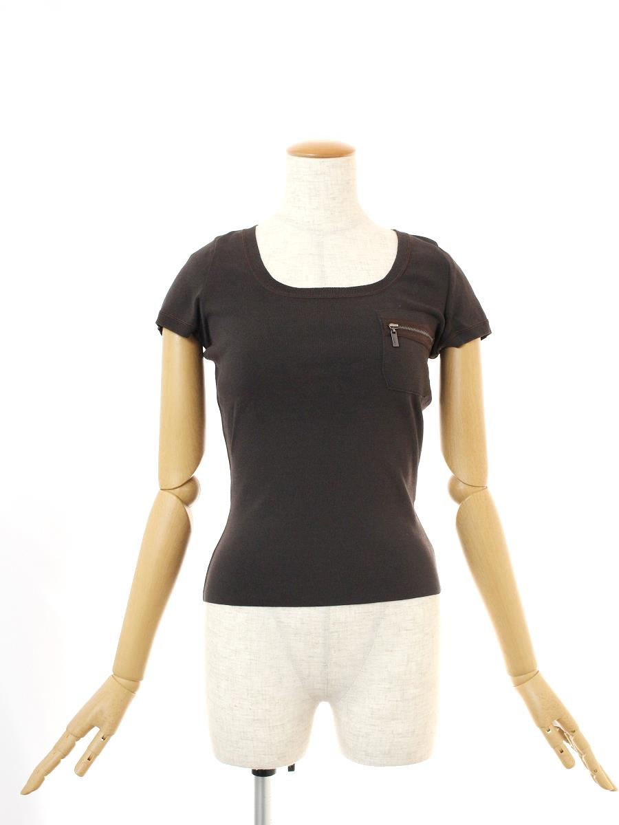 フォクシーブティック Tシャツ カットソー トップス 半袖 19146