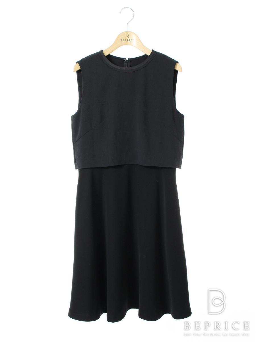 アディアム ワンピース ワンピース WASHABLE LAYERED DRESS 36050