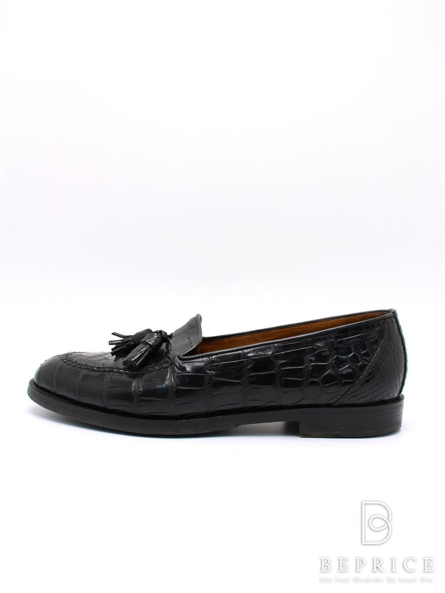 チャーチ ブーツ Churchs チャーチ 靴 シューズ ローファー プリマクラッセ 型押 ソール目立つ変色あり