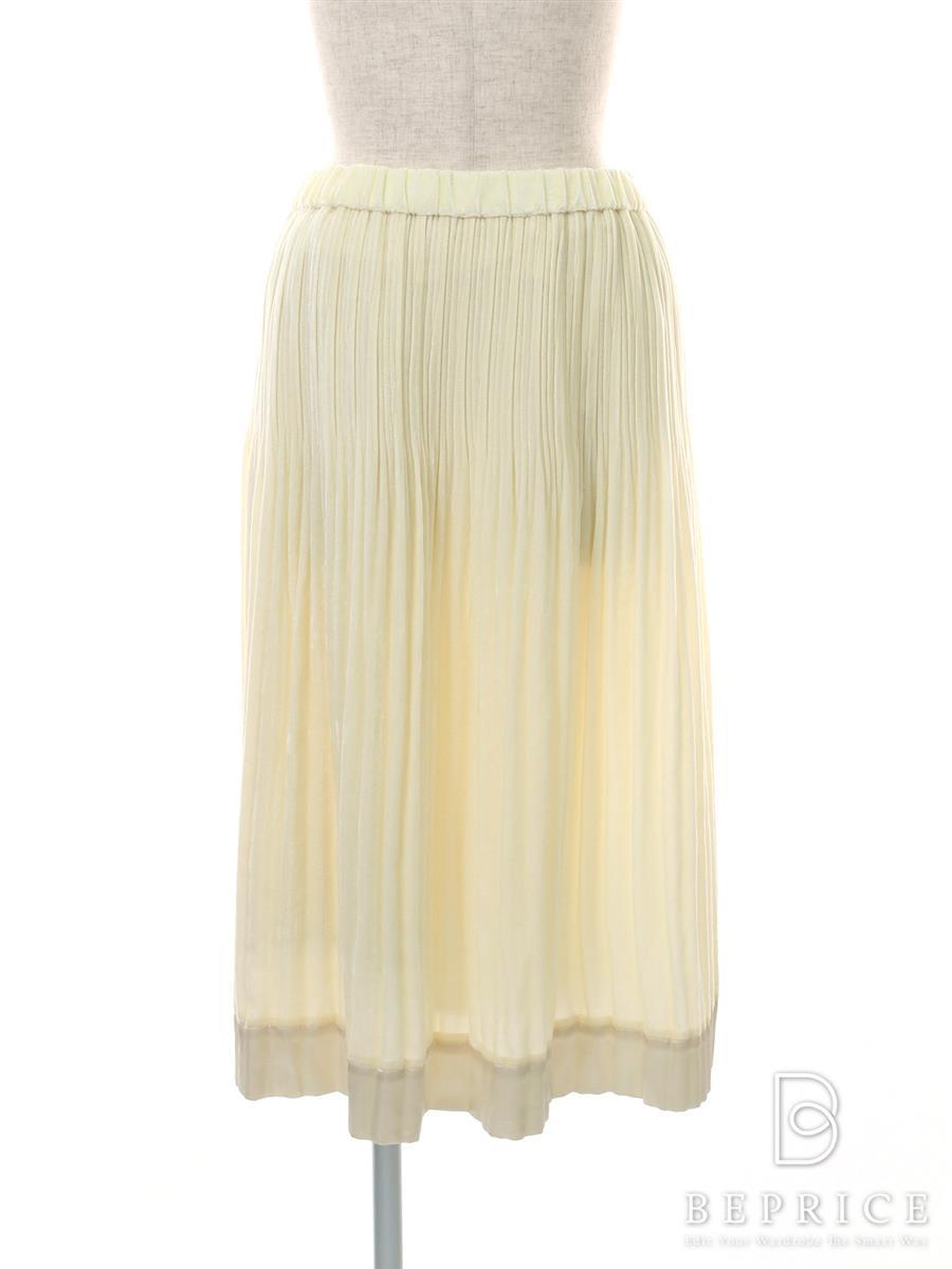 ノコプリーツ スカート