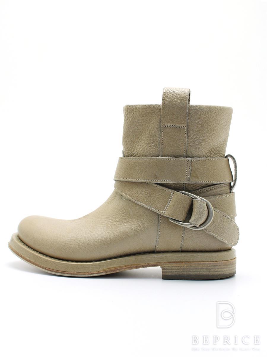 ブルネロクチネリ ブーツ BRUNELLO CUCINELLI ブルネロクチネリ ショートブーツ 薄汚れあり