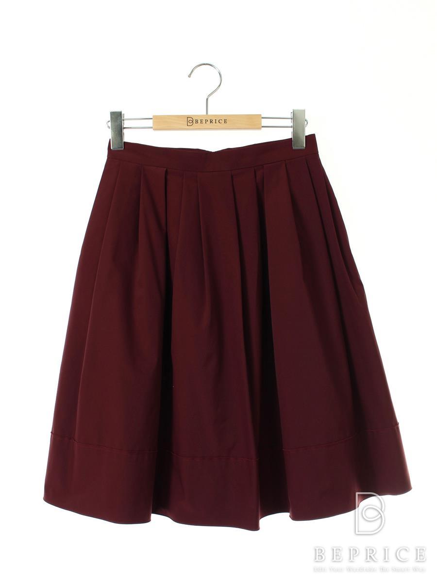 エムプルミエ スカート フレアー BLACK