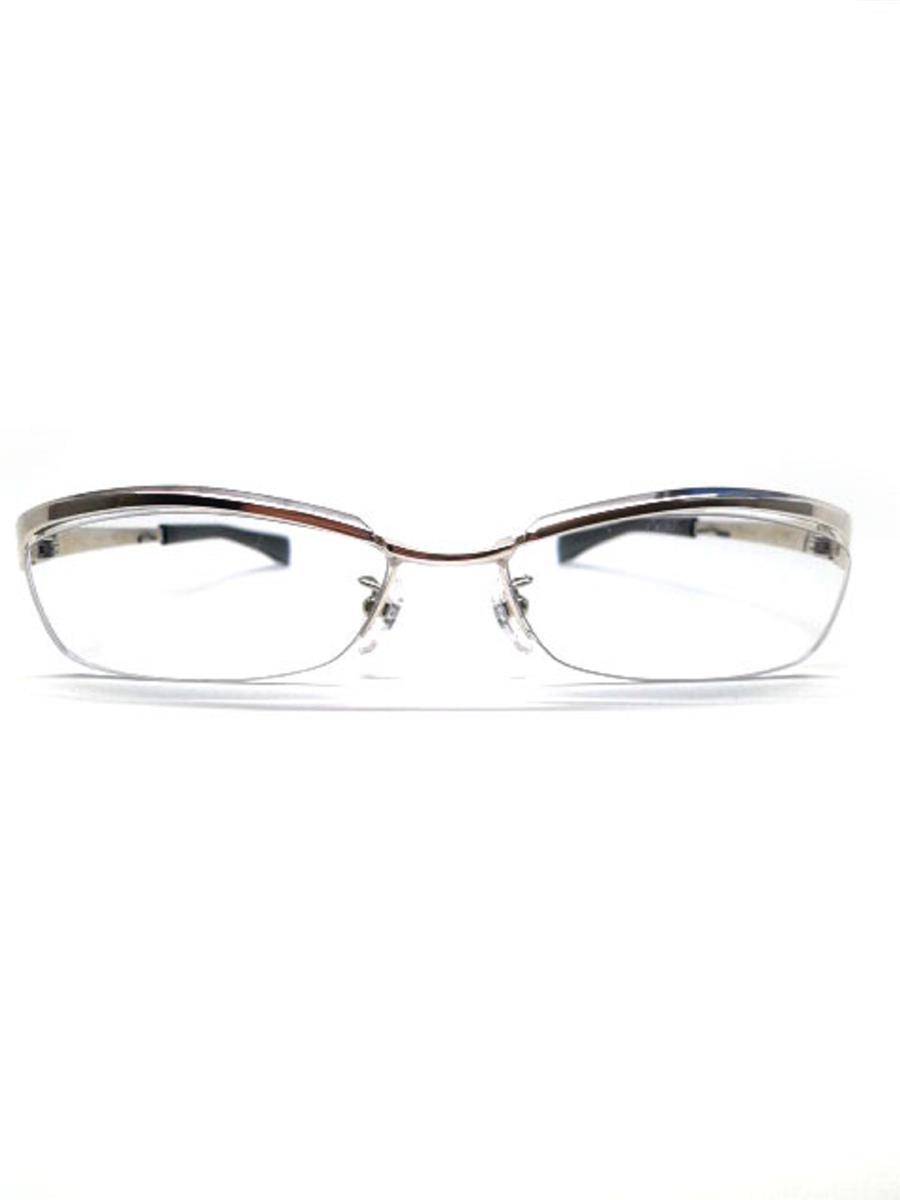 フォーナインズ メガネ 9999 フォーナインズ 眼鏡 メガネフレーム メタル ブロウ TITANIUM