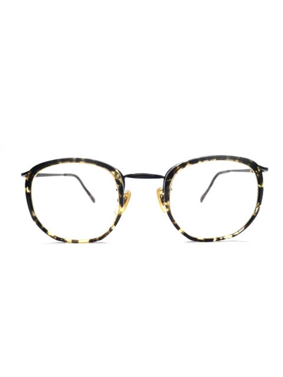 白山眼鏡店 メガネフレーム コンビ ブラック