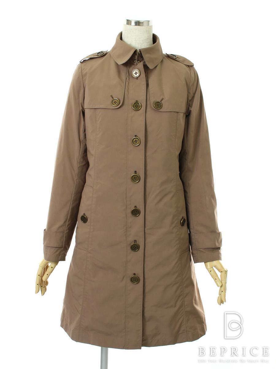 バーバリーロンドン コート コート 衿付 ライナー付 ファー欠品・薄汚れあり