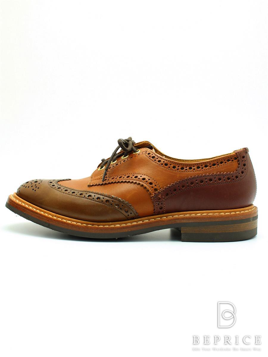 トリッカーズ Trickers トリッカーズ 靴 シューズ ウィングチップ 小さなスレあり