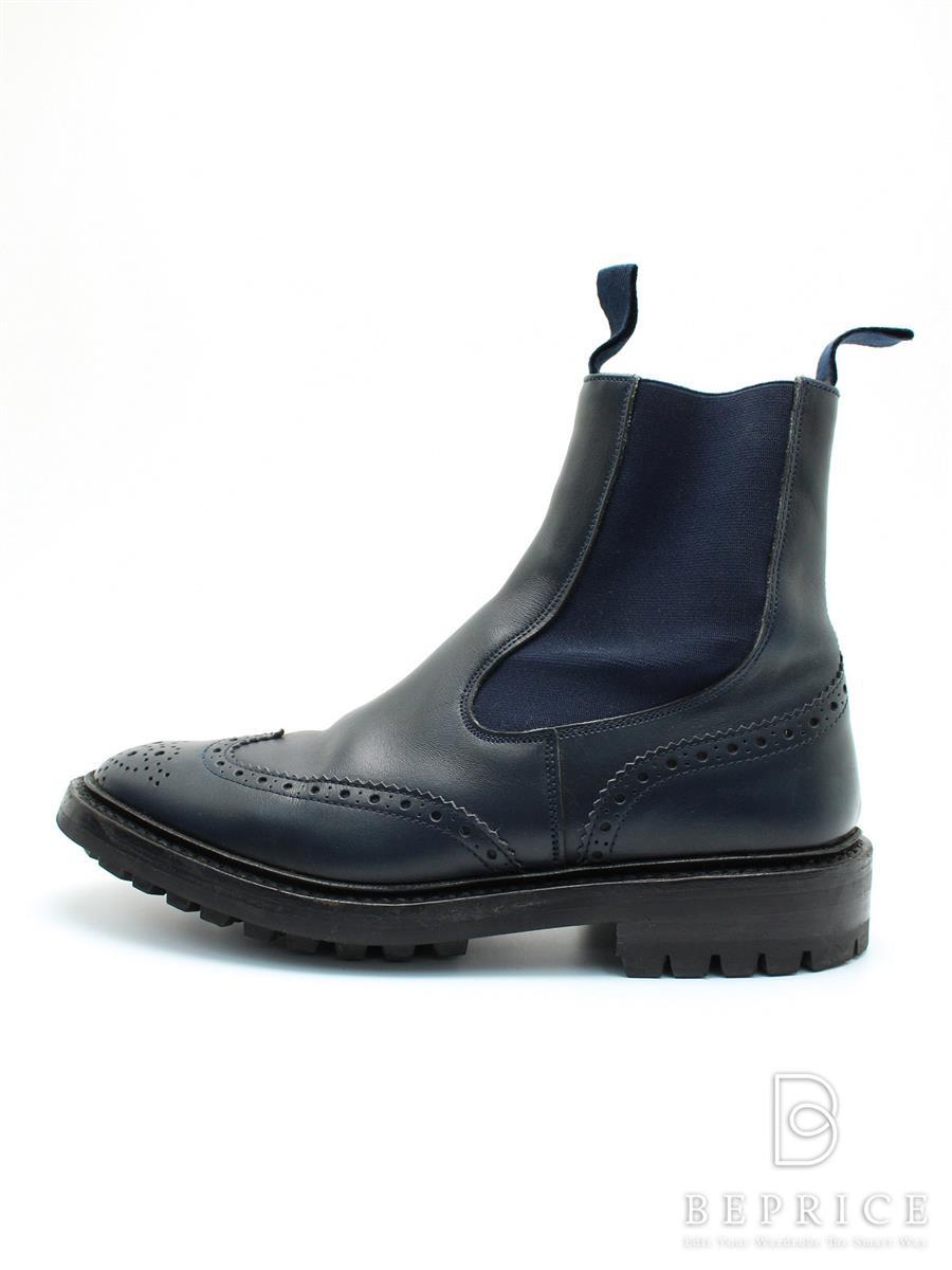 トリッカーズ Trickers トリッカーズ 靴 サイドゴアブーツ 小さなスレあり