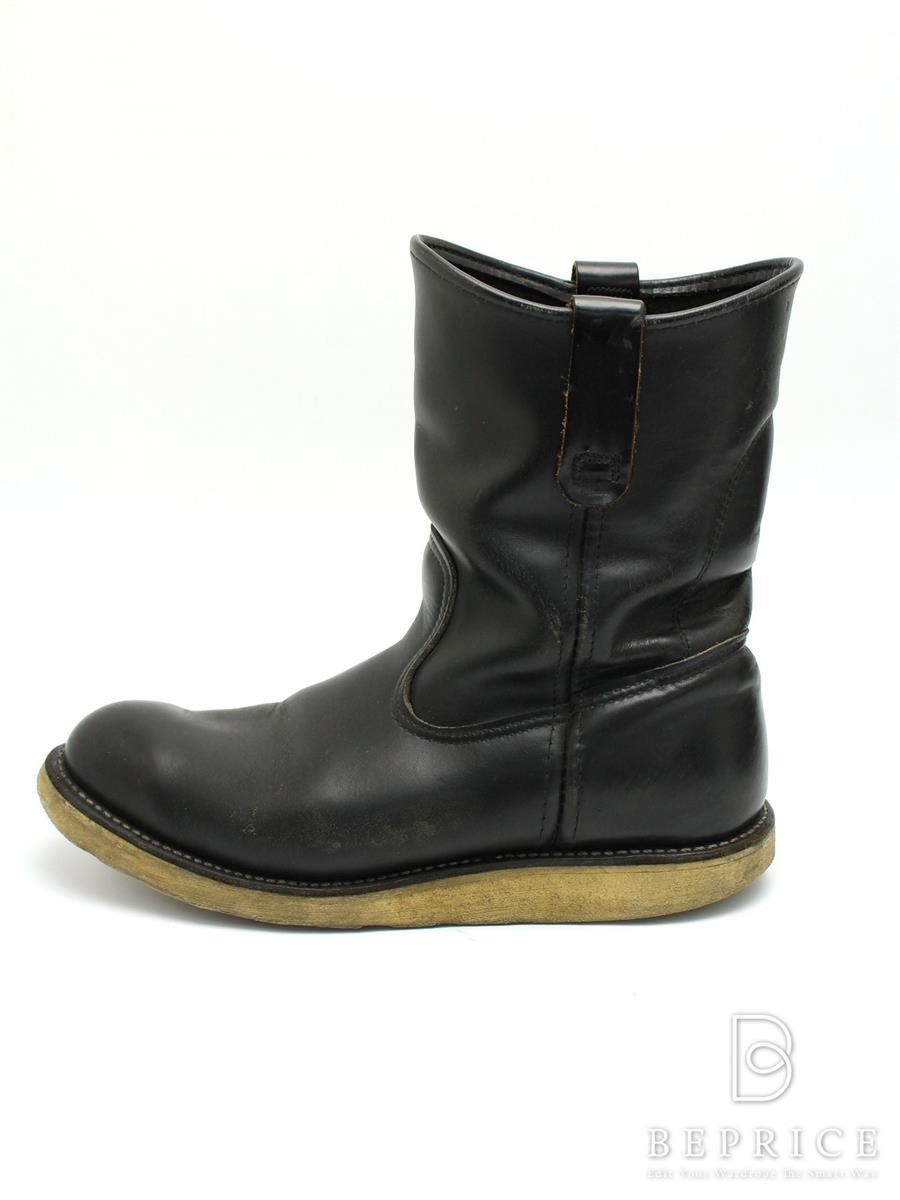 レッドウィング REDWING レッドウィング 靴 ショートブーツ スレ汚れあり