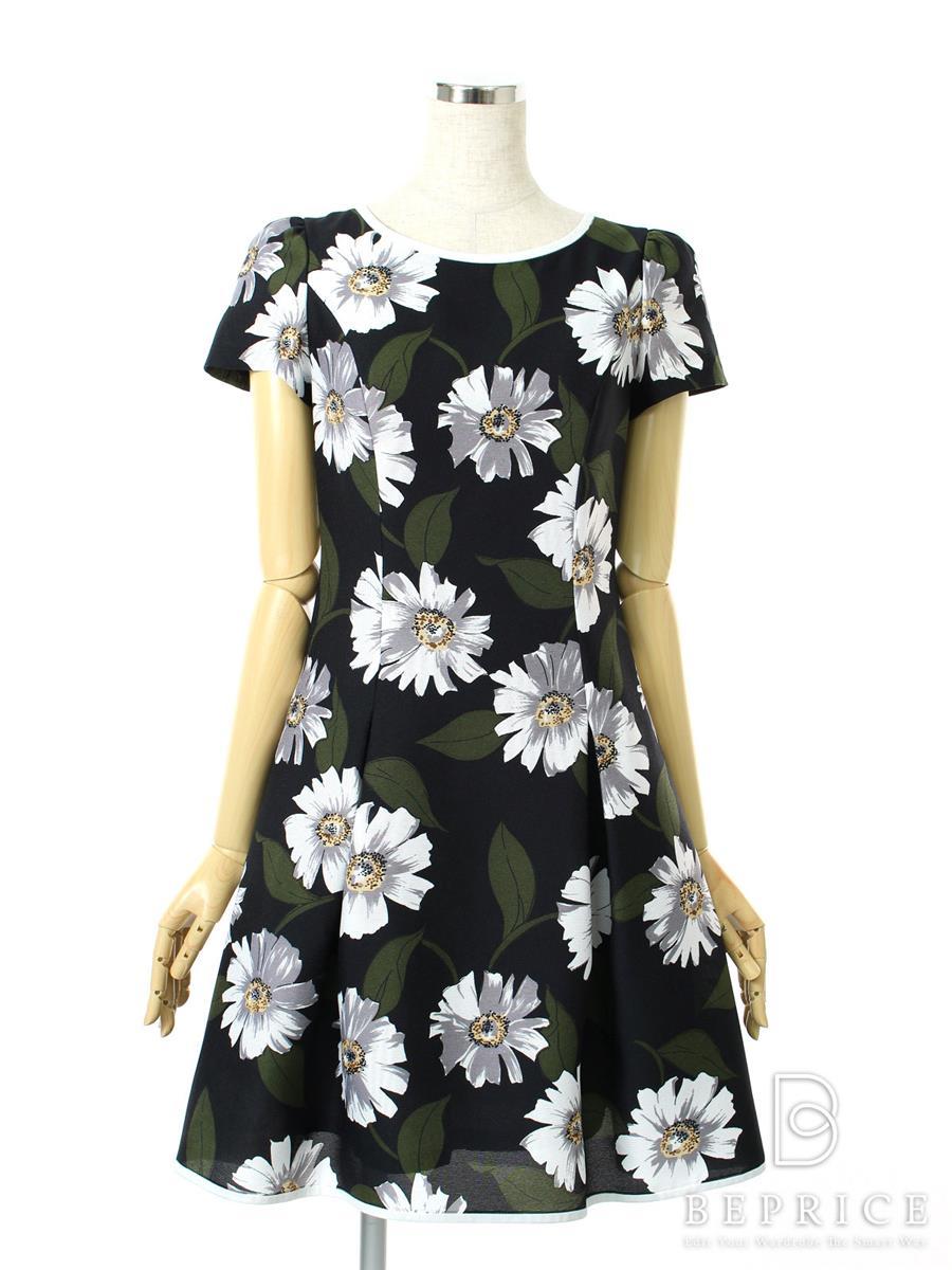 エムズグレイシー ワンピース 半袖 花柄
