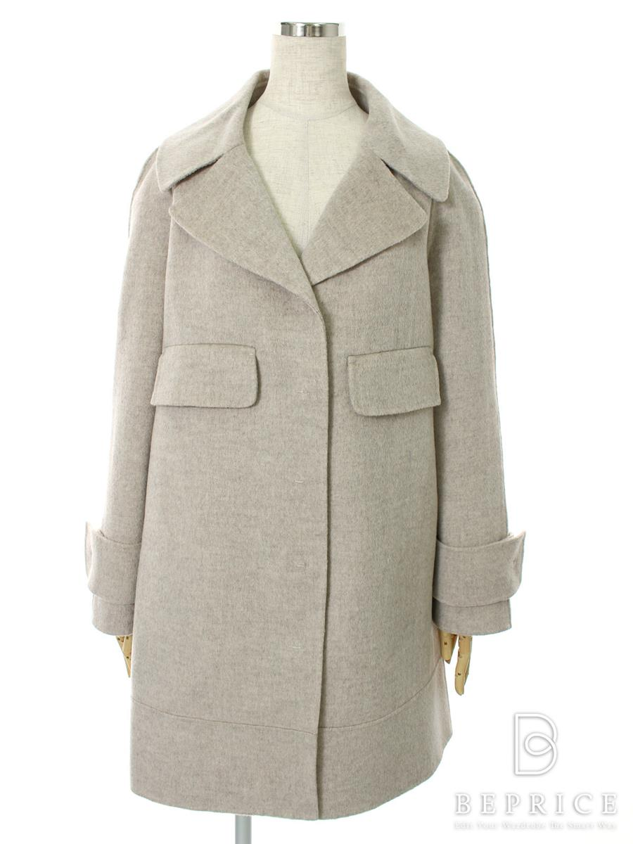 コート 衿付き ウール