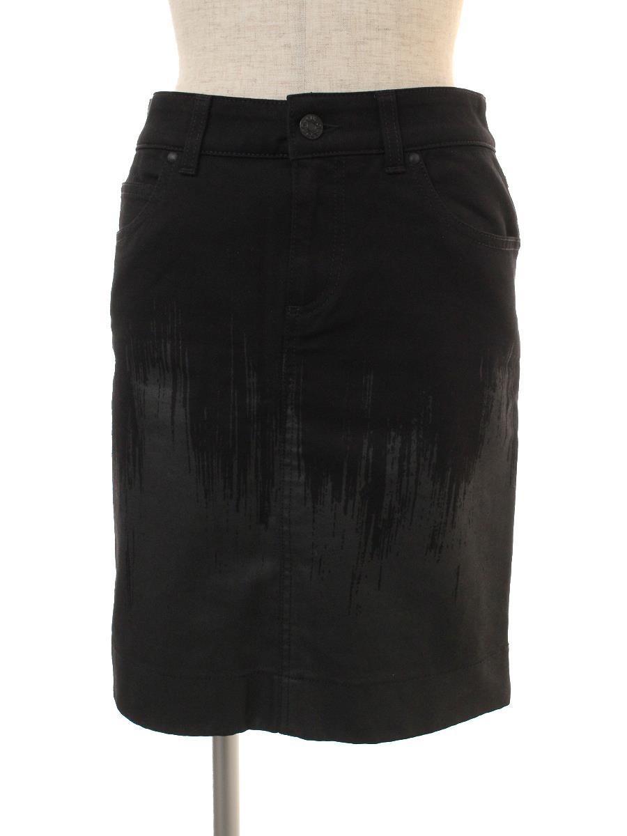 グッチ デニムスカート スカート デニム ブラック