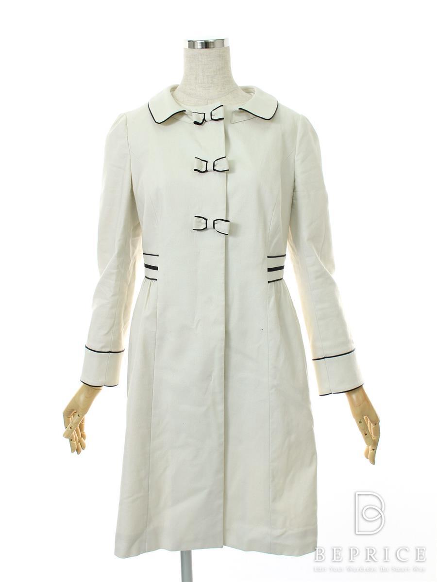 コート コート 衿付 リボン