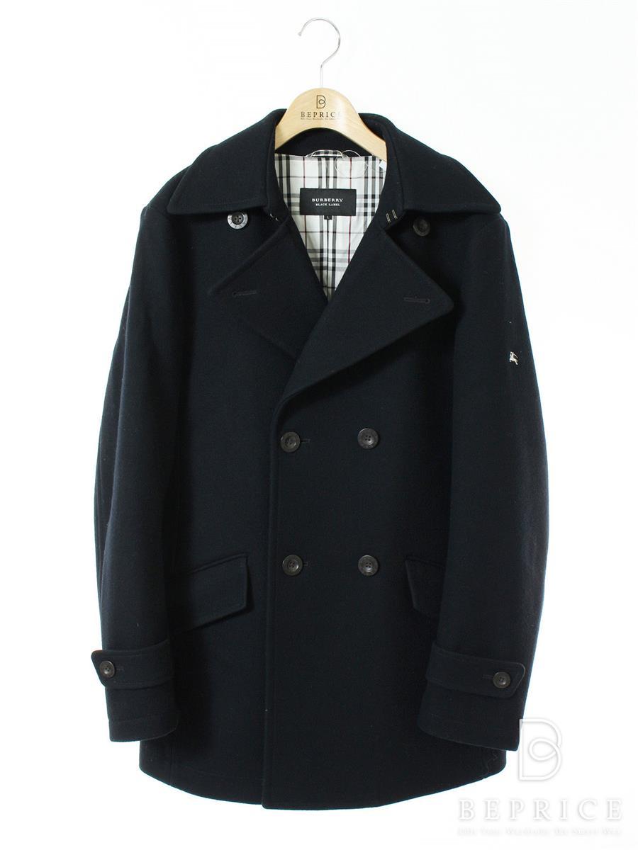 バーバリーブラックレーベル コート コート 衿付 Pコート