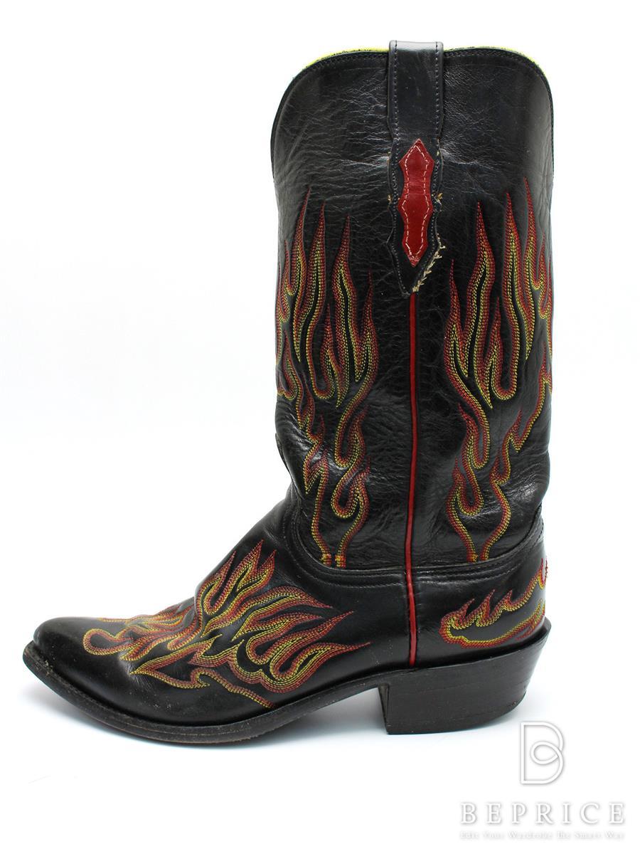 ルケーシー ブーツ Lucchese ルケーシー 靴 ウエスタンブーツ スレ小傷あり