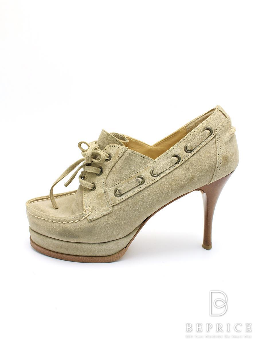 ピッピ パンプス pippi ピッピ 靴 パンプス スエード 汚れあり