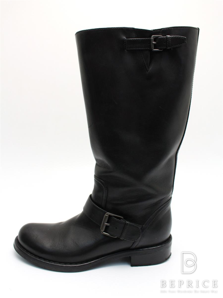 ボッテガヴェネタ 靴 ブーツ レザー