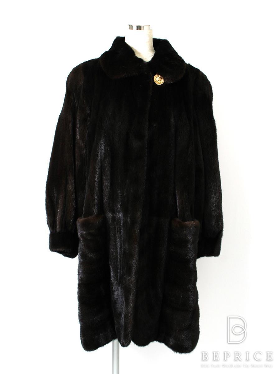 ブラックグラマ BLACKGLAMA ブラックグラマ コート ミンクファー Carven furs
