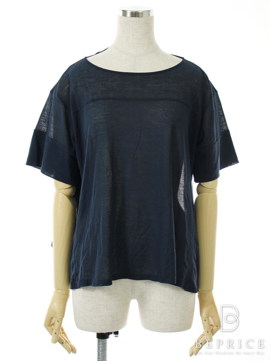 ドゥロワー Tシャツ カットソー トップス 半袖 ストレッチ