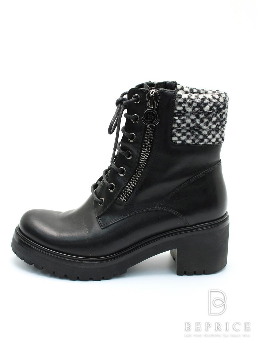 モンクレール MONCLER モンクレール 靴 ブーツ ジップ