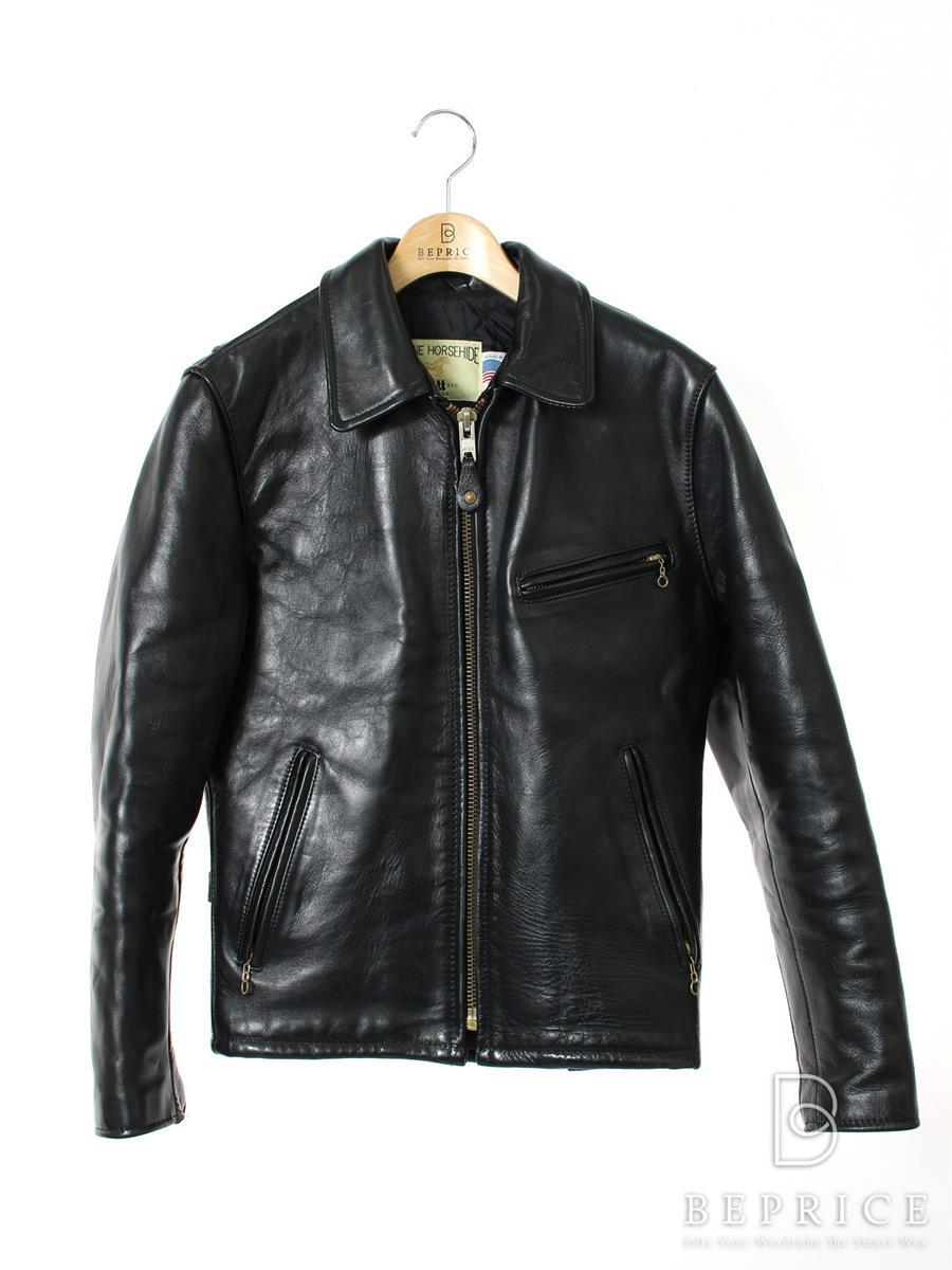 ショット ジャケット Schott ショット ジャケット レザー シングル 裾スレあり