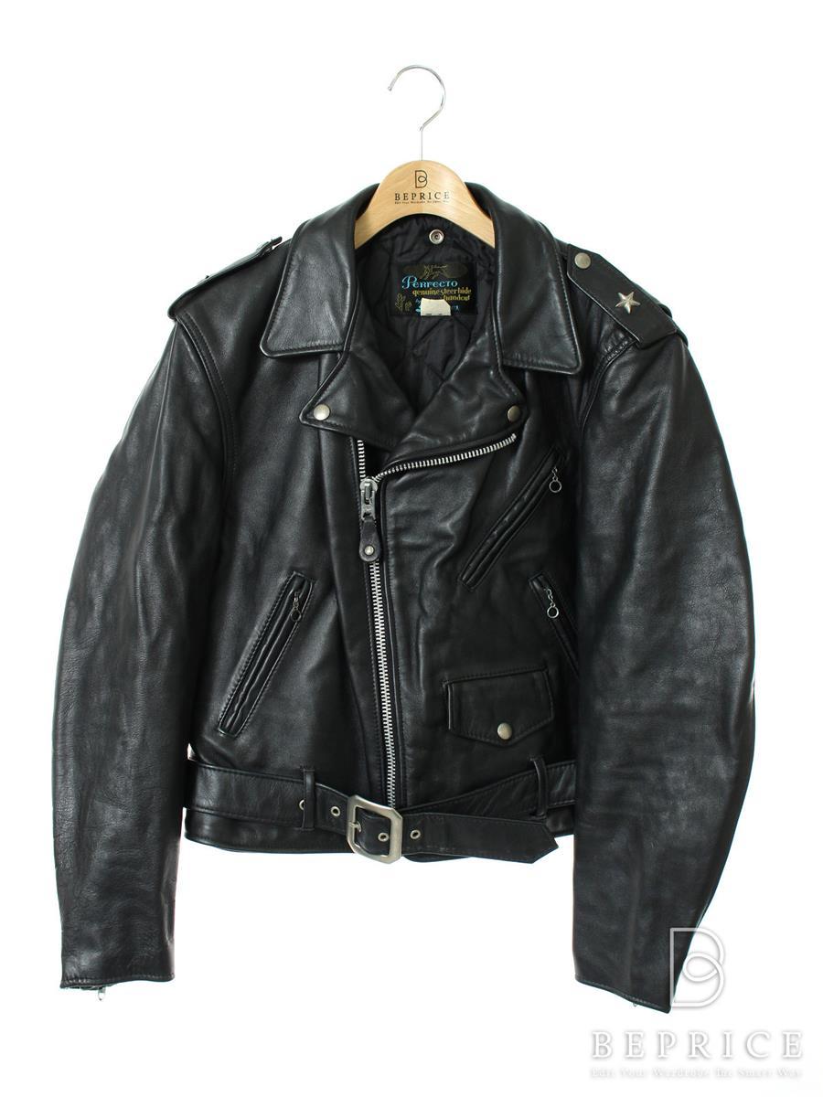 ショット ジャケット Schott ショット ジャケット レザー ライダース 袖の内側に毛玉あり