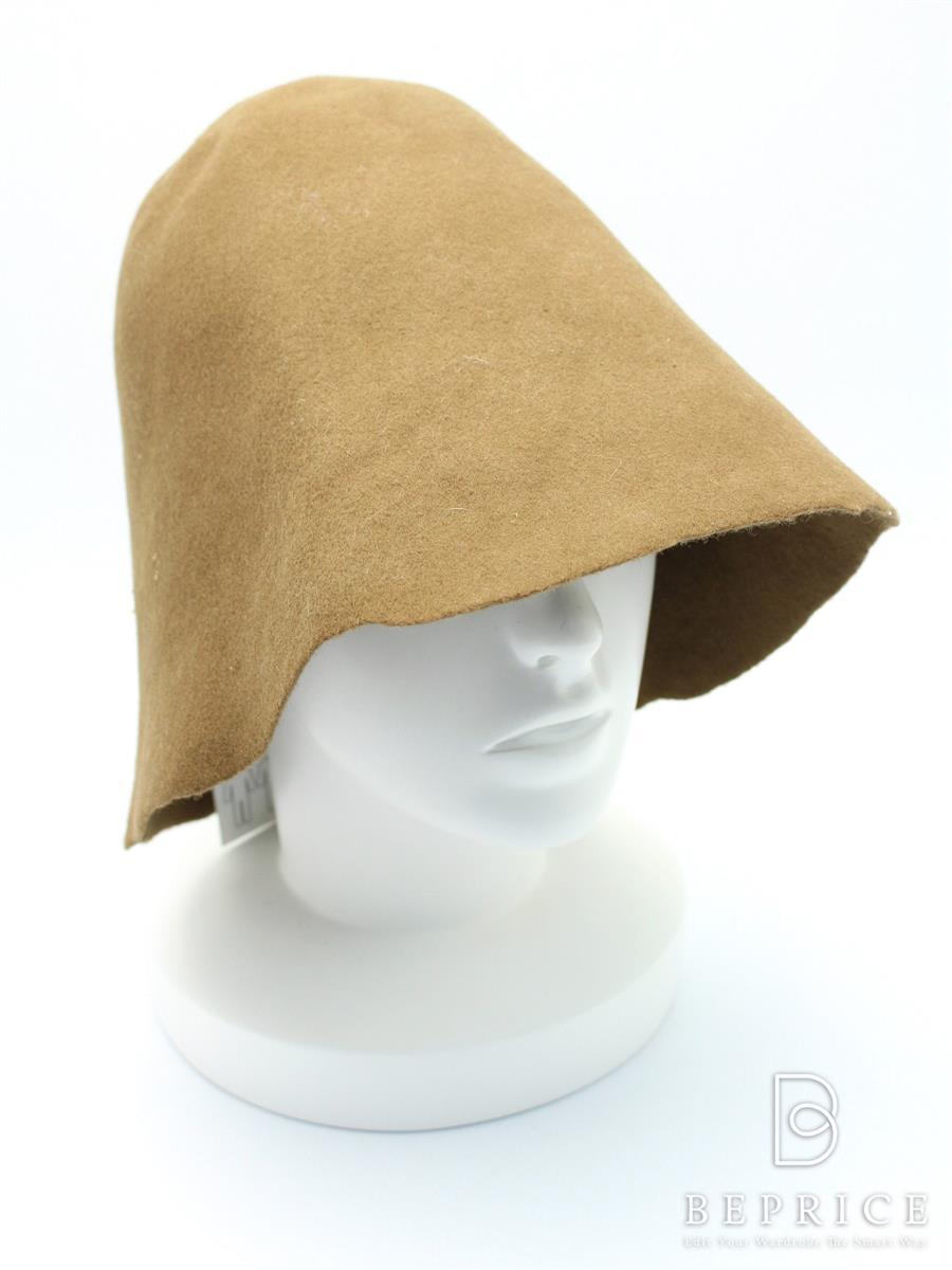 メゾンドソイル maison de soil メゾンドソイル 帽子 ウールフェルトハット