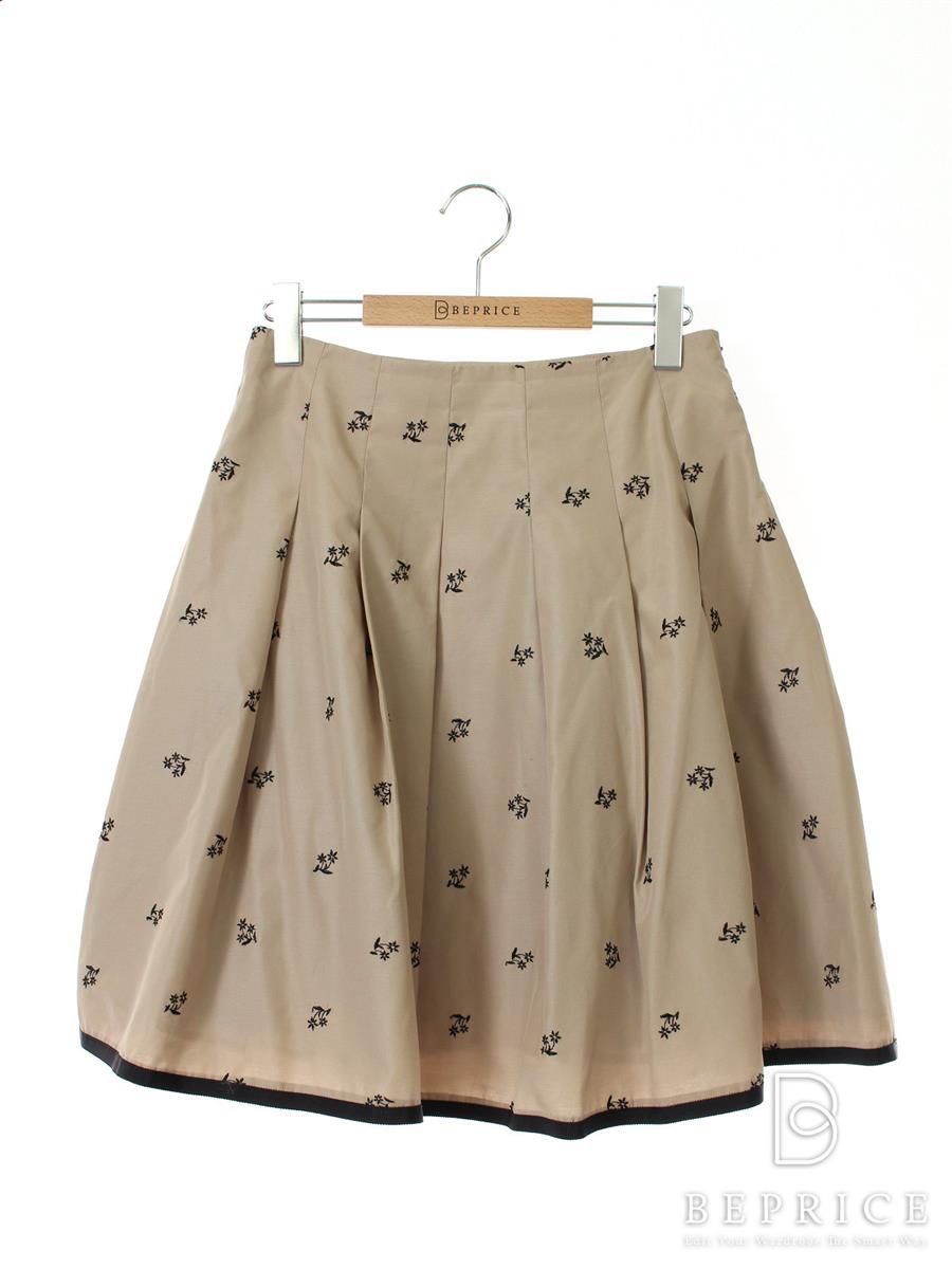 エムズグレイシー スカート 花刺繍