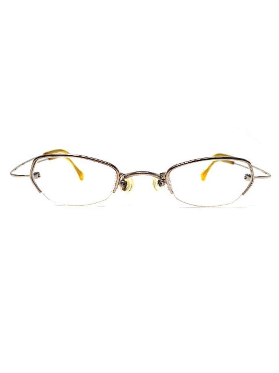 オリバーゴールドスミス OLIVER GOLDSMITH オリバーゴールドスミス メガネフレーム 18K White Gold Titan