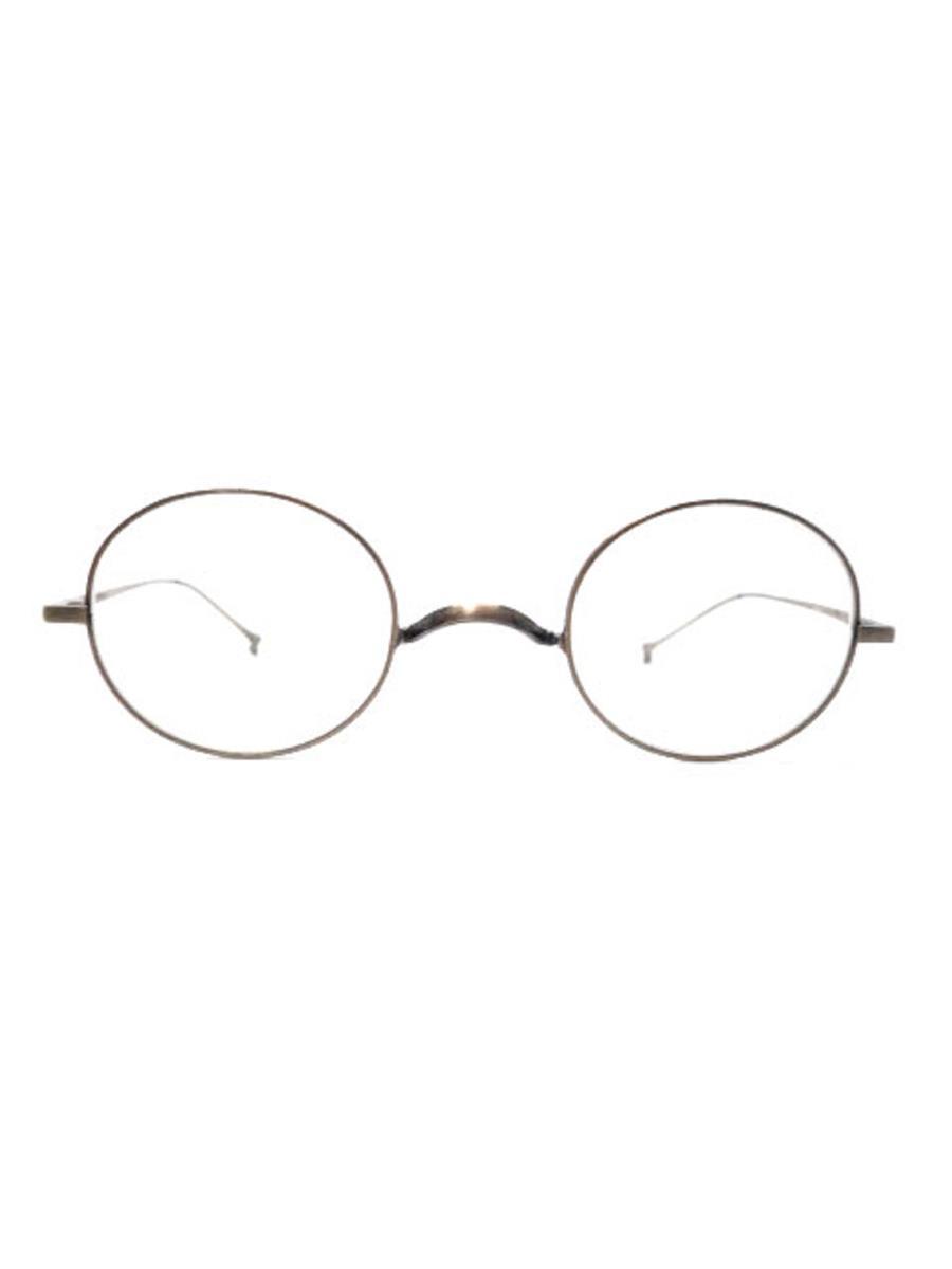 金子眼鏡 メガネフレーム ブラウン
