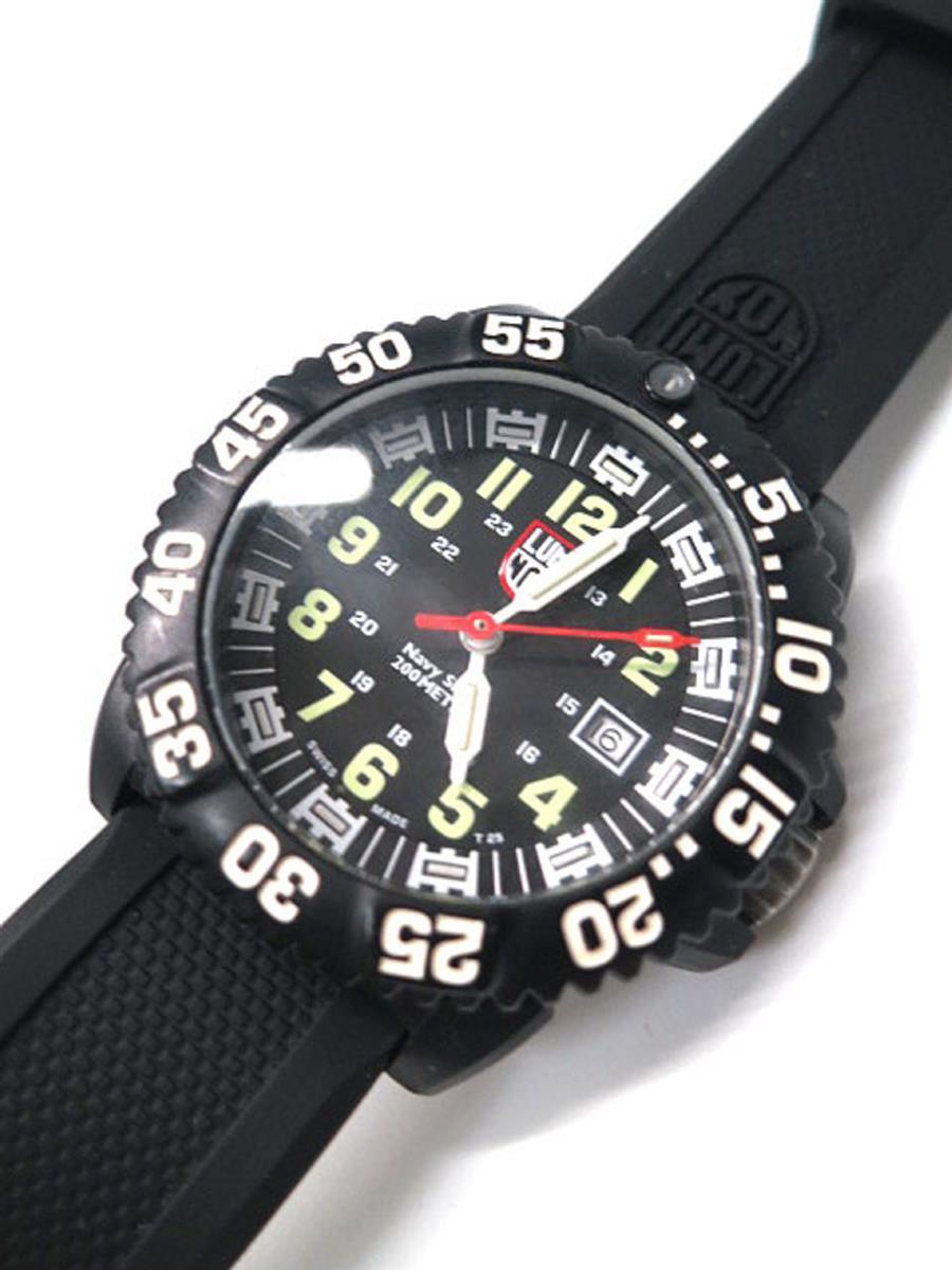 ルミノックス 腕時計 ネイビーシールズ